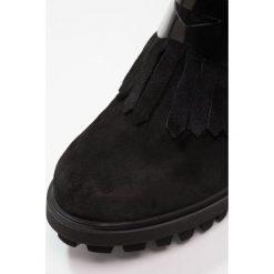 Buty damskie: Pedro Miralles Ankle boot prestige nero
