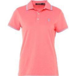 Polo Ralph Lauren Golf Koszulka sportowa spring mango. Pomarańczowe bluzki sportowe damskie Polo Ralph Lauren Golf, xs, z bawełny, z golfem. Za 419,00 zł.