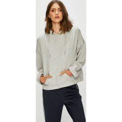 Only - Bluza. Szare bluzy rozpinane damskie ONLY, l, z bawełny, z kapturem. W wyprzedaży za 99,90 zł.