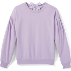 Bluza. Różowe bluzy dziewczęce La Redoute Collections, z bawełny, z długim rękawem, długie. Za 95,72 zł.