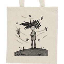 Shopper bag damskie: Wietrzna – torba – 2 kolory