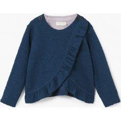 Bluzy dziewczęce rozpinane: Mango Kids - Bluza dziecięca 80-104 cm