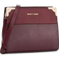 Torebka JENNY FAIRY - RH0550  Bordowy. Czerwone listonoszki damskie marki Jenny Fairy. Za 89,99 zł.