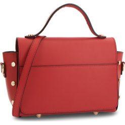 Torebka CREOLE - K10579  Czerwony. Czerwone torebki klasyczne damskie Creole, ze skóry. W wyprzedaży za 169,00 zł.