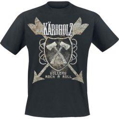 Kärbholz Vollgas Rock 'n Roll T-Shirt czarny. Czarne t-shirty męskie Kärbholz, xxl. Za 74,90 zł.