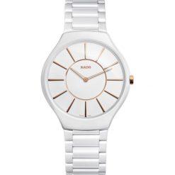 ZEGAREK RADO TRUE THINLINE. Białe zegarki męskie RADO, ceramiczne. Za 8280,00 zł.