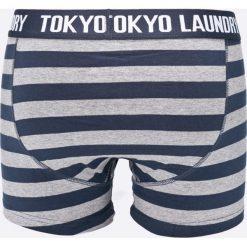 Tokyo Laundry - Bokserki (2-pack). Czarne bokserki męskie marki Tokyo Laundry, z bawełny. W wyprzedaży za 29,90 zł.