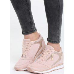 Różowe Sneakersy Every Position. Czerwone sneakersy damskie Born2be, z materiału. Za 89,99 zł.