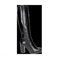 Kozaki damskie. Czarne buty zimowe damskie Wojas. Za 479,20 zł.