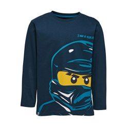 """T-shirty chłopięce z długim rękawem: Koszulka """"M-72167"""" w kolorze granatowym"""