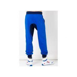 Joggery męskie: spodnie męskie z obniżonym stanem/chaber