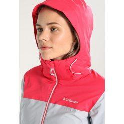 Kurtki sportowe damskie: Columbia SNOW DREAM Kurtka narciarska cirrus grey hthr/punch pink