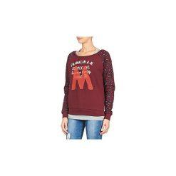 Bluzy Franklin   Marshall  MANTECO. Czerwone bluzy rozpinane damskie Franklin Marshall, m. Za 293,30 zł.