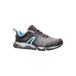 Skórzane buty damskie do szybkiego marszu PW 940 Propulse Motion szare. Czarne buty do fitnessu damskie marki Adidas, z kauczuku. Za 279,99 zł.