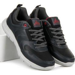 OBUWIE SPORTOWE MĘSKIE - odcienie szarości i srebra. Szare buty skate męskie AX BOXING. Za 69,90 zł.