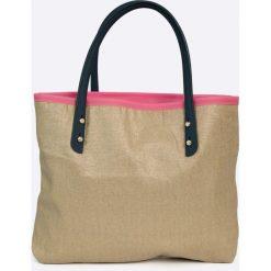 Zaxy  - Torebka. Szare torebki klasyczne damskie marki Zaxy, z materiału, duże. W wyprzedaży za 79,90 zł.
