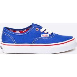 Vans - Tenisówki dziecięce Authentic Star. Szare buty sportowe dziewczęce marki Vans, z gumy. W wyprzedaży za 79,90 zł.