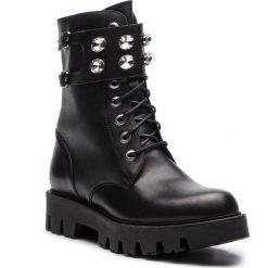 Trapery EVA MINGE - Famorca 4O 18GR1372676EF  101. Czarne buty zimowe damskie marki Eva Minge, z materiału. W wyprzedaży za 439,00 zł.