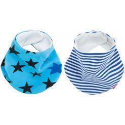 Śliniaki: Beemy Śliniaczki Night Stars & Baby Blue