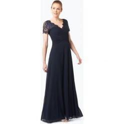 Długie sukienki: Vera Mont Collection - Damska sukienka wieczorowa, niebieski