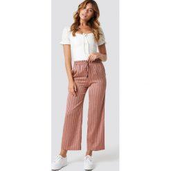Spodnie damskie: MANGO Spodnie Guzman - Pink