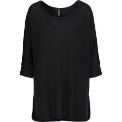 Sweter dzianinowy bonprix czarny. Czarne swetry oversize damskie bonprix, z dzianiny. Za 59,99 zł.