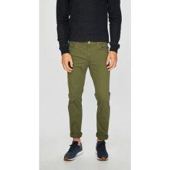 Jack & Jones - Spodnie 12141086. Szare rurki męskie Jack & Jones, z bawełny. W wyprzedaży za 119,90 zł.