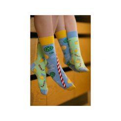 Skarpetki damskie: Lemoniada – kolorowe skarpetki Spox Sox