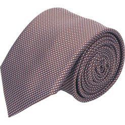 Krawaty męskie: krawat platinum bordo classic 224
