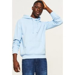Bluza kangurka z kapturem - Niebieski. Niebieskie bluzy męskie rozpinane marki QUECHUA, m, z elastanu. Za 79,99 zł.