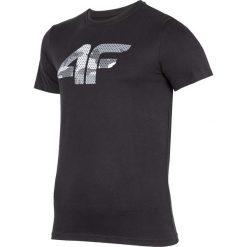 T-shirty męskie z nadrukiem: T-shirt męski TSM244 - głęboka czerń