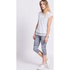 Adidas Performance - Top. Szare topy sportowe damskie marki adidas Performance, l, z elastanu. W wyprzedaży za 129,90 zł.