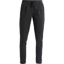 Spodnie dresowe damskie: ICHI KATE Spodnie treningowe dark grey