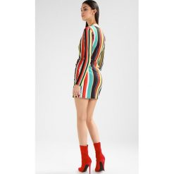 Sukienki: Missguided WRAP OVER VNECK MINI DRESS  Sukienka z dżerseju multi