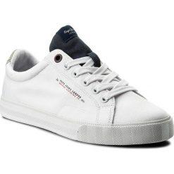Tenisówki PEPE JEANS - New North Tennis PMS30422  Navy 595. Białe tenisówki męskie Pepe Jeans, z gumy. W wyprzedaży za 159,00 zł.