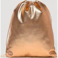 Mi-Pac - Plecak. Brązowe plecaki damskie Mi-Pac, z materiału. Za 129,90 zł.