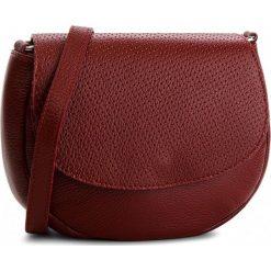 Torebka CREOLE - K10543 Rosso. Czerwone listonoszki damskie Creole, ze skóry. W wyprzedaży za 159,00 zł.