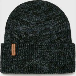 New Balance - Czapka. Czarne czapki zimowe męskie marki New Balance, na zimę, z dzianiny. Za 89,90 zł.