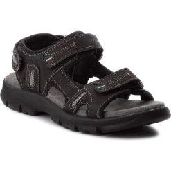 Sandały GRISPORT - 81551N4 Buff Var 4 Black. Czarne sandały męskie skórzane marki Grisport. W wyprzedaży za 179,00 zł.