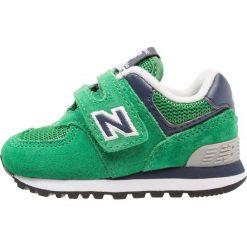 New Balance IV574 Tenisówki i Trampki green. Szare trampki chłopięce marki New Balance, na lato, z materiału. Za 249,00 zł.