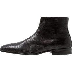 ALDO QIRESSA Botki black. Czarne botki męskie marki ALDO, z materiału. Za 579,00 zł.