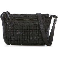 Torebki klasyczne damskie: Skórzana torebka w kolorze czarnym – 27 x 21 x 8 cm