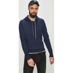 Tommy Hilfiger - Bluza. Czarne bluzy męskie rozpinane marki TOMMY HILFIGER, l, z bawełny, z kapturem. Za 539,90 zł.