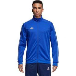Bejsbolówki męskie: Adidas Bluza męska Core 18 Pes Jkt niebieska r. XS (CV3564)