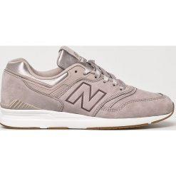 New Balance - Buty WL697PMG. Szare buty sportowe damskie New Balance, z materiału. W wyprzedaży za 439,90 zł.