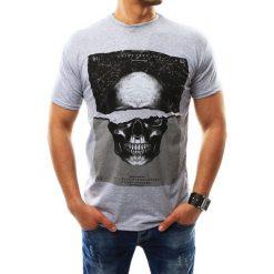 T-shirty męskie z nadrukiem: T-shirt męski z nadrukiem szary (rx2298)