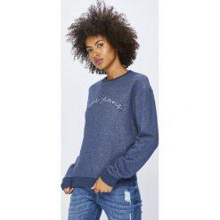 Pepe Jeans - Bluza Momo. Szare bluzy z nadrukiem damskie marki Pepe Jeans, l, z bawełny, bez kaptura. Za 279,90 zł.