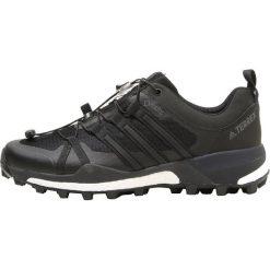 Adidas Performance TERREX SKYCHASER GTX  Obuwie hikingowe core black/carbon. Czarne buty sportowe męskie adidas Performance, z materiału, outdoorowe. Za 749,00 zł.