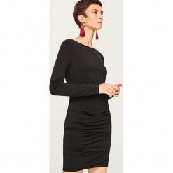 Dopasowana sukienka mini - Fioletowy. Czarne sukienki mini marki Reserved, z lyocellu. Za 79,99 zł.