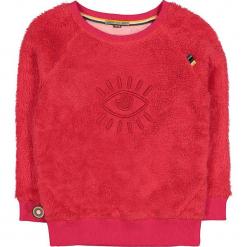 """Bluza """"Eye In The Sky"""" w kolorze czerwonym. Niebieskie bluzy dziewczęce rozpinane marki 4FunkyFlavours Kids. W wyprzedaży za 102,95 zł."""